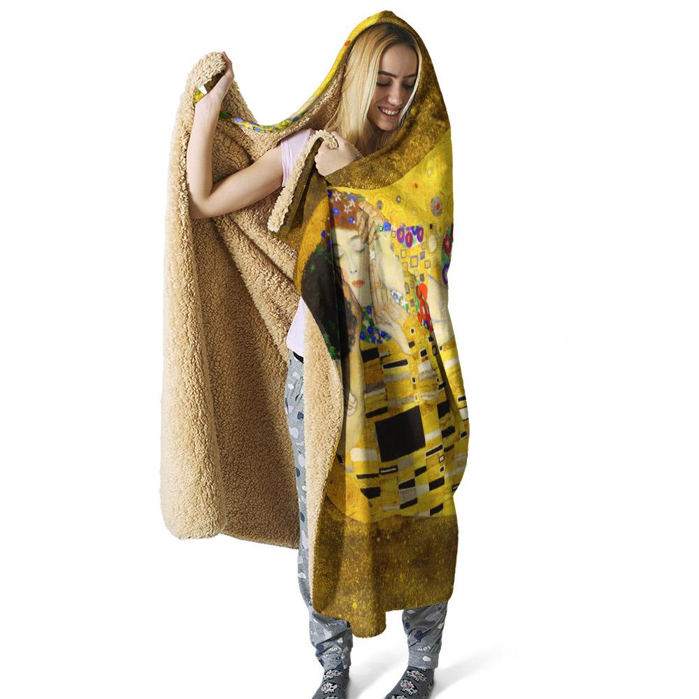 kapşonlu battaniye