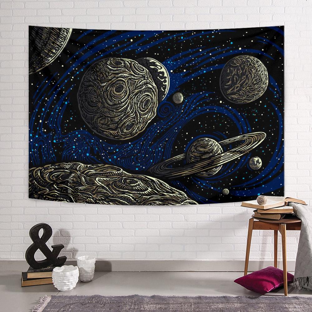 Dark Galaxy Duvar Örtüsü