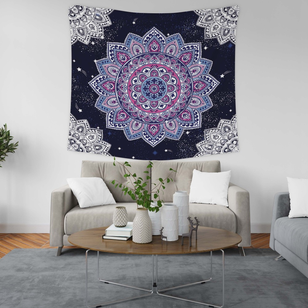 PASAJ Home Yıldızlı Mandala Duvar Örtüsü