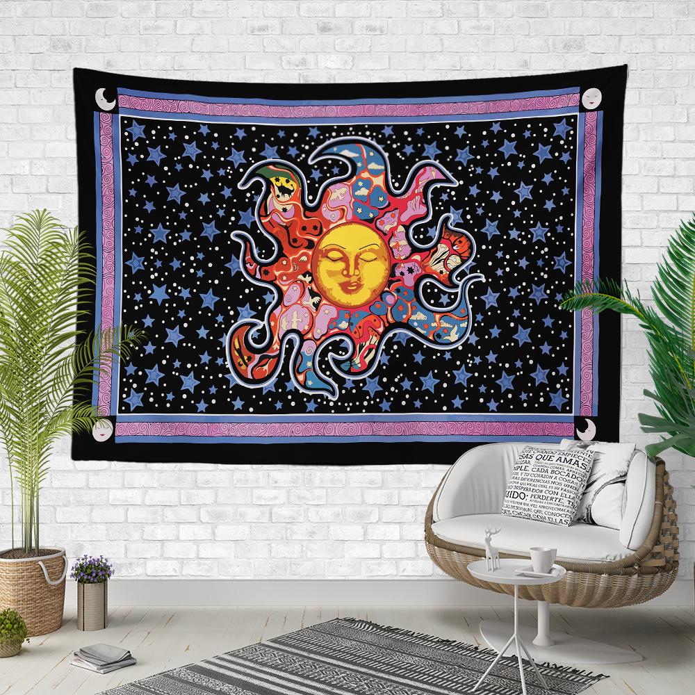 Güneş ve Burçlar Duvar Örtüsü