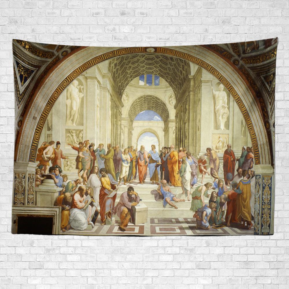 Raffaello Atina Okulu Duvar Örtüsü