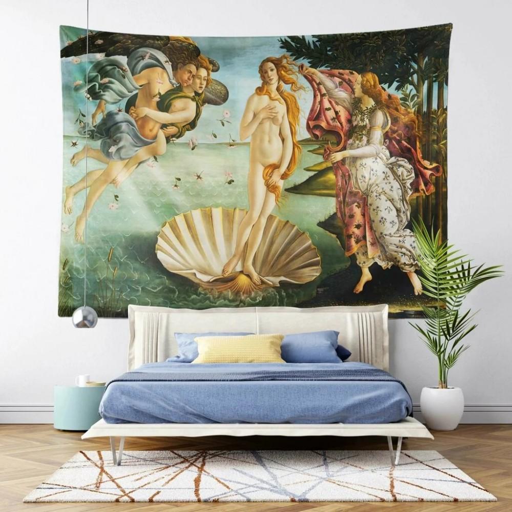 Venüs ün Doğuşu Duvar Örtüsü